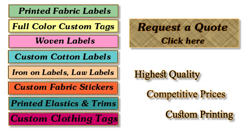 Fabric Labels Services-Home Image