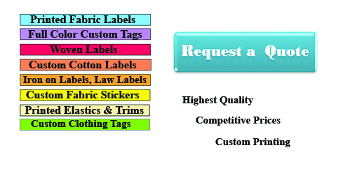 Fabric Labels-homepage image